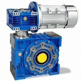 Червячный мотор-редуктор, двухступенчатый